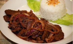 Filipino Beef Steak (Bistek Tagalog)