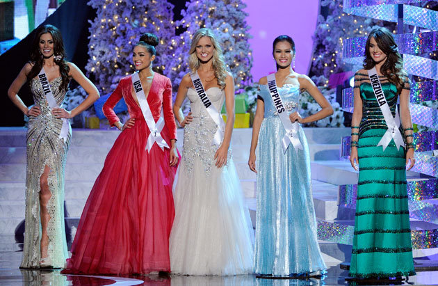 Ms.Philippines Wins 1st Runner Up in Ms. Universe 2012 Pageant