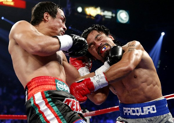 Legendary Philippine boxer Manny Pacquiao loses to Mexican opponent Juan Manuel Marquez