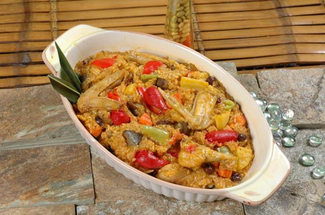 Arroz Valenciana is fondly dubbed as Poor Man's paella