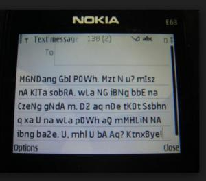 Nokia Text Message
